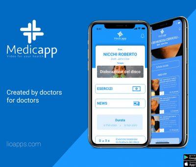 Medicapp, creata dai medici per i medici.